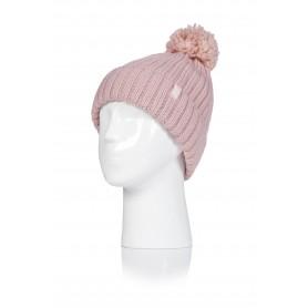 W. POM POM HAT - ARDEN (삭샵 힛홀더스 여성 니트 겨울 방울 모자)