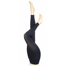 [1pr] W. THERMAL LEGGINGS - NAVY (삭샵 힛홀더스 여성 겨울 보온 무발 레깅스)