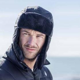 M. AVIATOR HAT - BLACK (삭샵 힛홀더스 남성 겨울 보온 모자)
