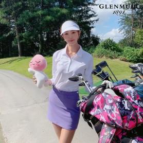 g.Misha 여성 퍼포먼스 피케 글렌뮤어 골프 긴팔 폴로 셔츠