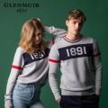 g.Spencer 글렌뮤어 1891 헤리티지 컬렉션 라운드넥 포인트 캐시미어 니트 스웨터 (남녀공용)