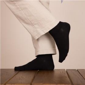 [2pr] W. RAINBOO BAMBOO SOCKS - BLACK (삭샵 여성 컬러 레인보우 뱀부 정장 무지양말)