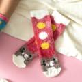 [2pr] W. CAT FLUFFY BED SOCKS (삭샵 와일드핏 여성 겨울 고양이 수면양말)