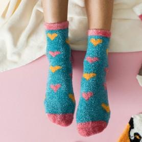[2pr] W. KOALA FLUFFY BED SOCKS (삭샵 와일드핏 여성 겨울 코알라 수면양말)