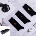 [7pr] M. 7 DAYS XMAS GIFT BOX (삭샵 와일드핏 남성 신사 정장 자수양말 선물 세트)