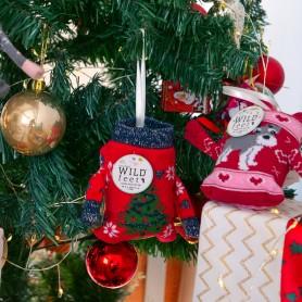 [1pr] W. XMAS TREE SOCKS (삭샵 와일드핏 크리스마스 트리 행잉 여성양말 4종 - 트리)