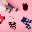 [3pr] W. POMERANIAN PATTERN SOCKS (삭샵 와일드핏 여성 포메 패턴 패션양말)