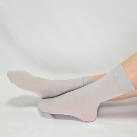 [2pr] W. LUREX PEARL FASHION COLLECTION SOCKS (삭샵 여성 루렉스 펄 패션 컬렉션 양말)